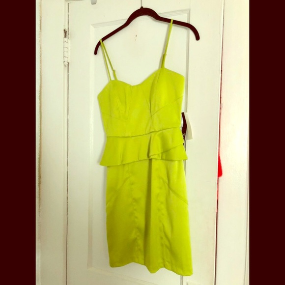 9a8c0c2eec36 XOXO Dresses | Brand New With Tags Lime Green Cocktail Dress | Poshmark